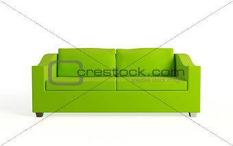 Modern sofa.