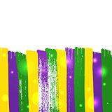 Grunge mardi gras background