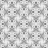 Design seamless twirl striped pattern