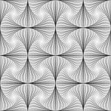 Design seamless twirl striped pattern