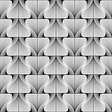 Design seamless swirl movement stripy pattern