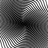 Design monochrome whirl circular background