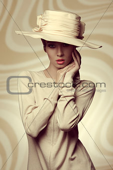 charming fashion elegant girl