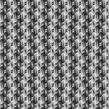 Design seamless twirl stripy diamond pattern