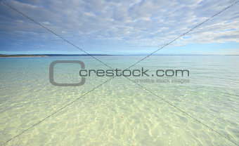 Crystal Clear waters of Jervis Bay