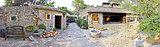 Traditional stone village in Dalmatia