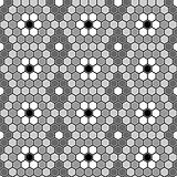 Design seamless mosaic hexagon pattern