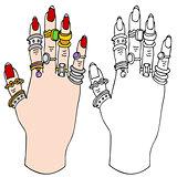 Hand Ring Holder