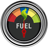 Green Fuel Gauge