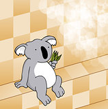 Cute Koala Steam Room