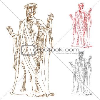 Classic Greek Statue