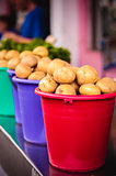 Potatoes at local market