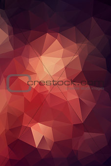 Abstract polygonal background for web design