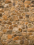 Masonry rock wall