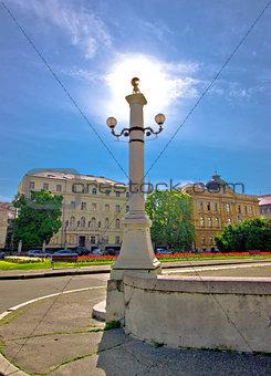 Capital of Croatia Zagreb square