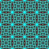 Decorative seamless pattern in a blue color