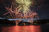 Fireworks on the Maggiore Lake, Luino