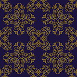 vector seamless pattern in eastern style