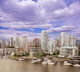 Vancouver downtown. British Columbia.