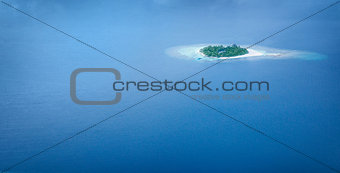 Panoramic sea background
