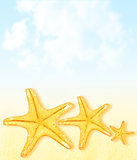Summertime vacation abstract background