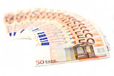 Bills of fifty Euros