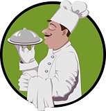 Vector logo of master chef