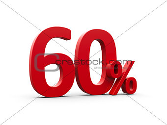 Red sixty percent