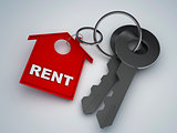 Key with rent home