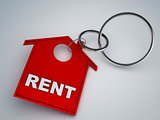 rent house keychain symbol