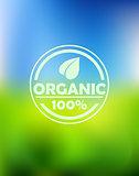Bio organic label