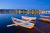 Calm evening in Nin harbor