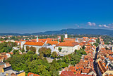 Historic upper town of Zagreb