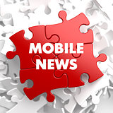 Mobile News on Red Puzzle.