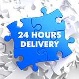 Blue Puzzle - 24 hours Delivery.