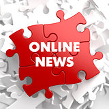 Online News on Red Puzzle.