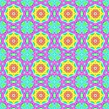 Seamless geometric pattern in a gentle colors