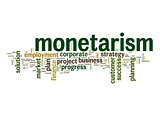 Monetarism word cloud