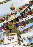 Mantraa´s at Swayambhunath stupa temple