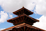 Durbar Square building - Hindu temples in the ancient city
