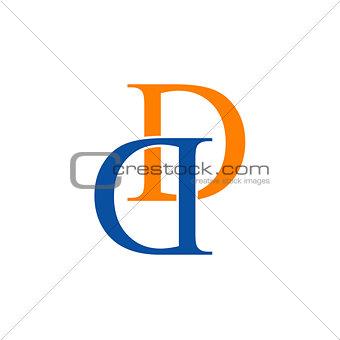 Artwork with alphabet D
