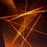 Abstract background with laser beams