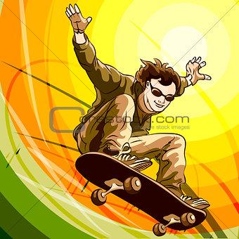 Easy skater