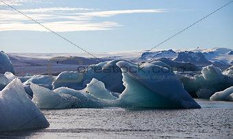 Iceberg Lagoon, Jokulsarlon lake, Iceland