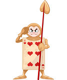 Queen of Hearts Guard