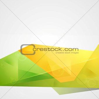Bright sunny summer vector tech design