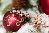 Several assorted Christmas ornaments