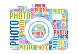 photo camera, vector