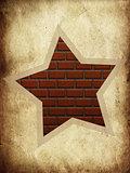 Brick star
