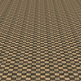 Distorted brown checkered background